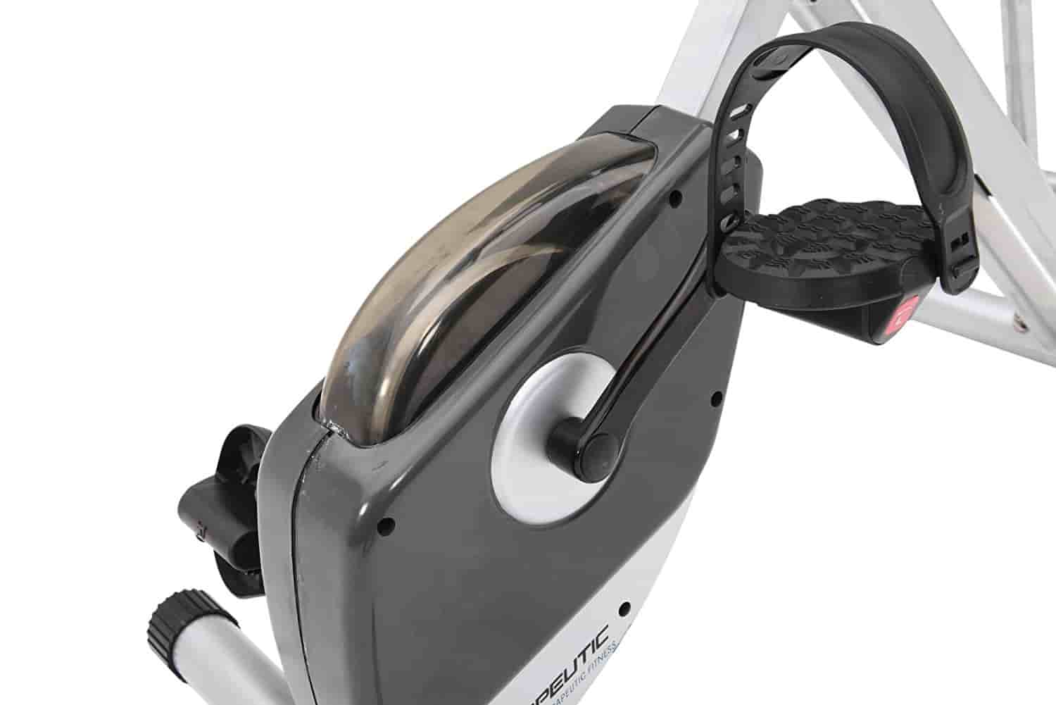 Exerpeutic Folding Magnetic Upright Bike flywheel