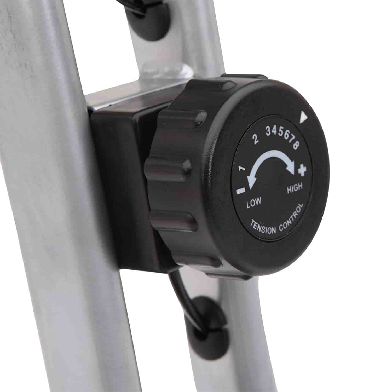 Exerpeutic Folding Magnetic Upright Bike tension control-min