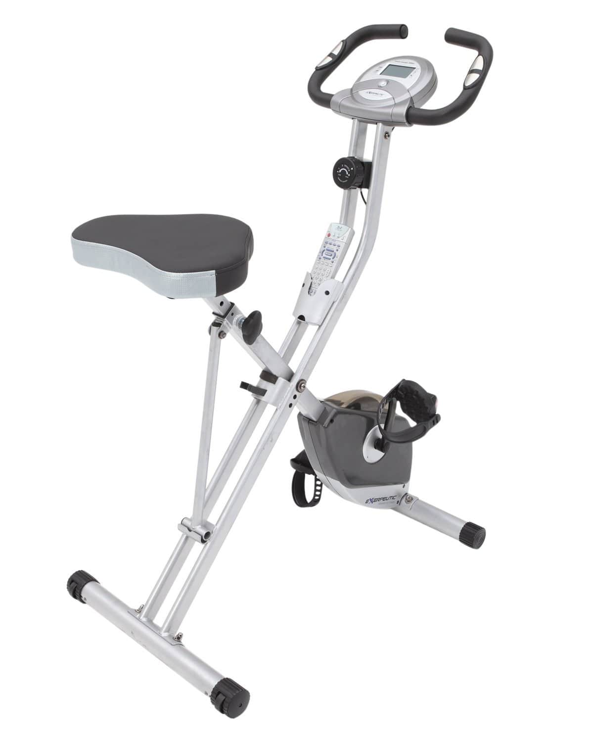 Exerpeutic Folding Upright Bike-min