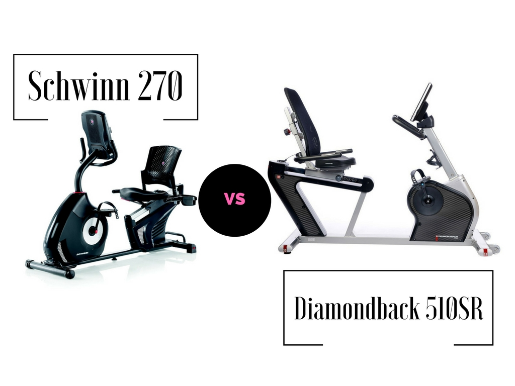 Schwinn 270 Vs Diamondback 510SR exercise bike comparison