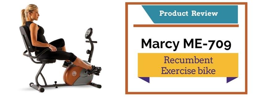 Marcy me 709-recumbent exercise bike
