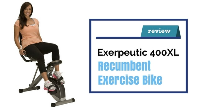 Exerpeutic 400XL Folding Exercise bike Review
