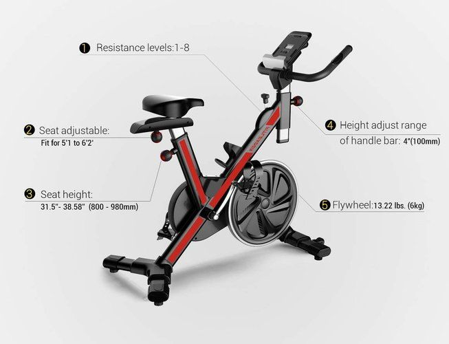 Fitleader-FS1-Stationary-Spin-Bike-for-Home