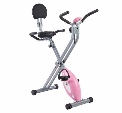 Sunny Health & Fitness Magnetic Folding Recumbent Bike