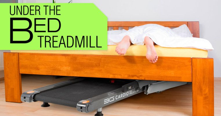 Compact Treadmill Under Bed & Under Desk